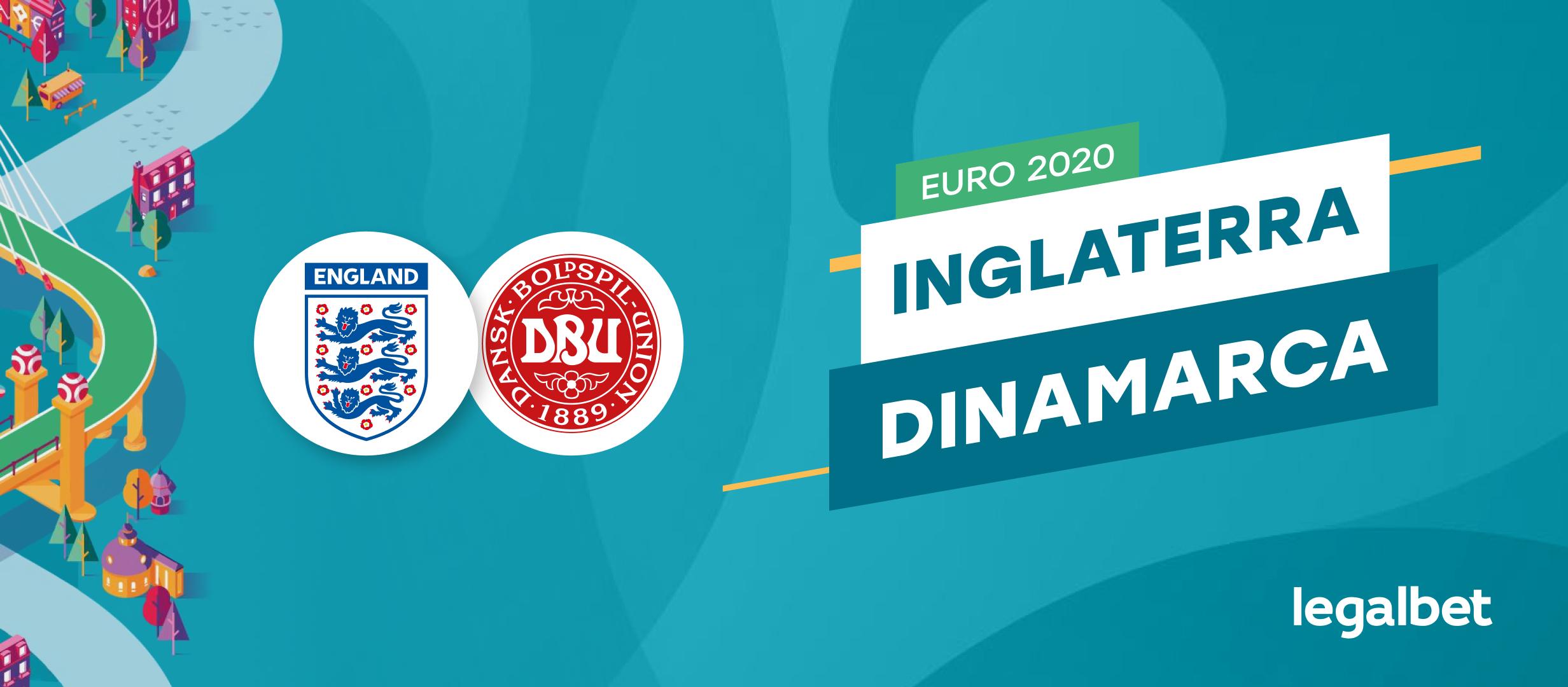 Apuestas y cuotas Inglaterra - Dinamarca, EURO 2020