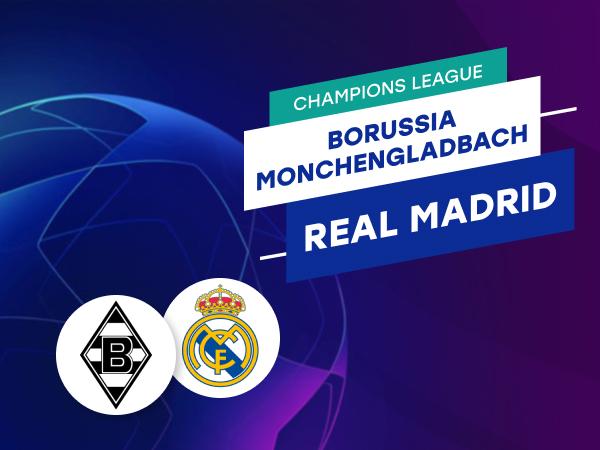 Antxon Pascual: Apuestas y cuotas Borussia Mönchengladbach - Real Madrid, Champions League 2020/21.