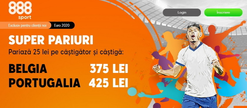 Cine se va califica in sferturi la EURO 2020, Romelu Lukaku sau Cristiano Ronaldo?