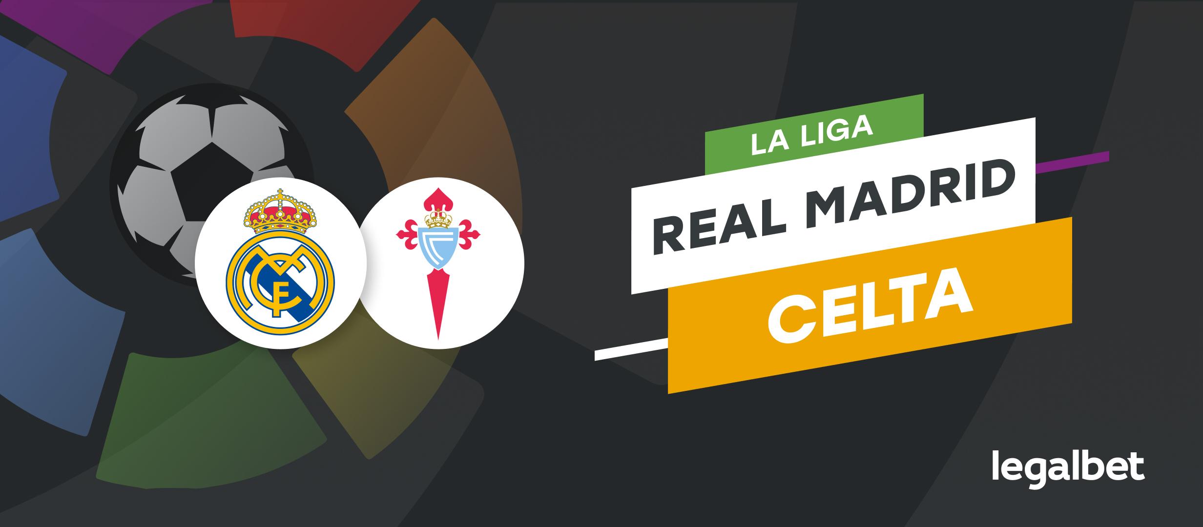 Apuestas Real Madrid - Celta