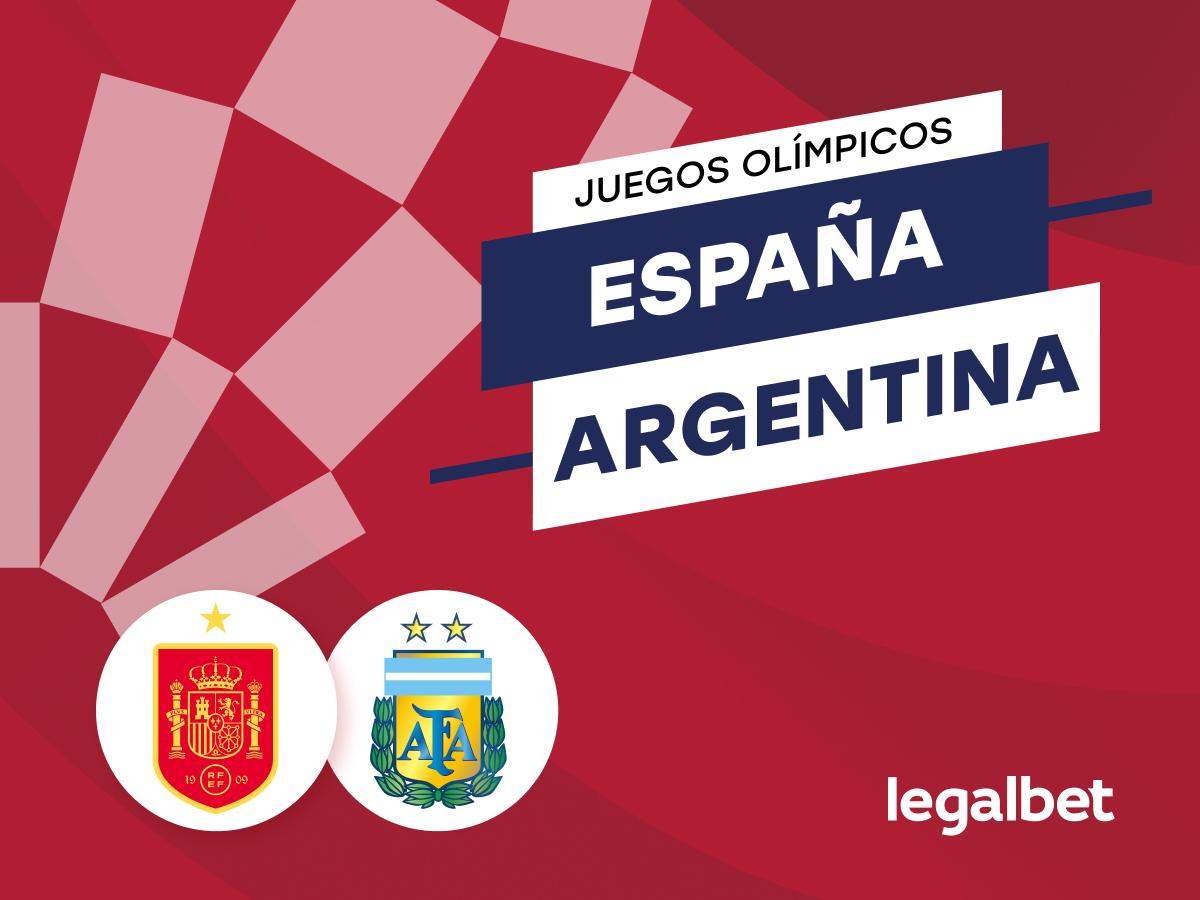 Antxon: Apuestas y cuotas España - Argentina, Juegos Olímpicos 2020 (2021).