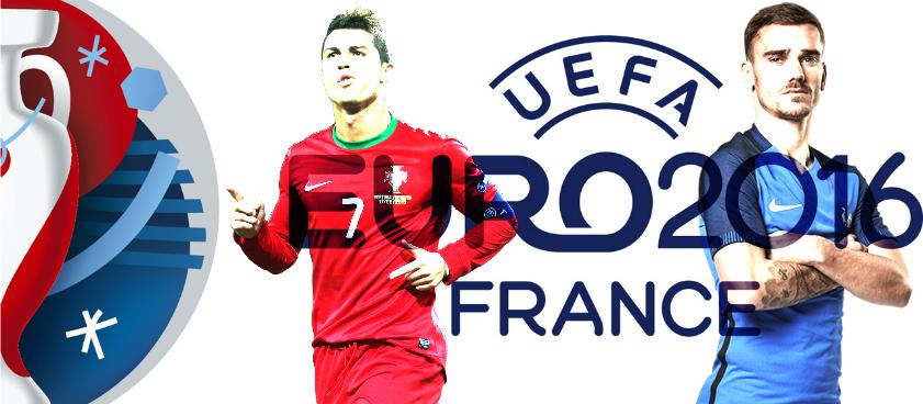 Cristiano Ronaldo y Griezmann luchan por la Euro