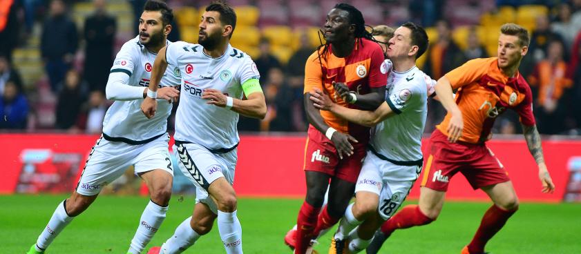 Galatasaray - Konyaspor. Pariul lui Wallberg