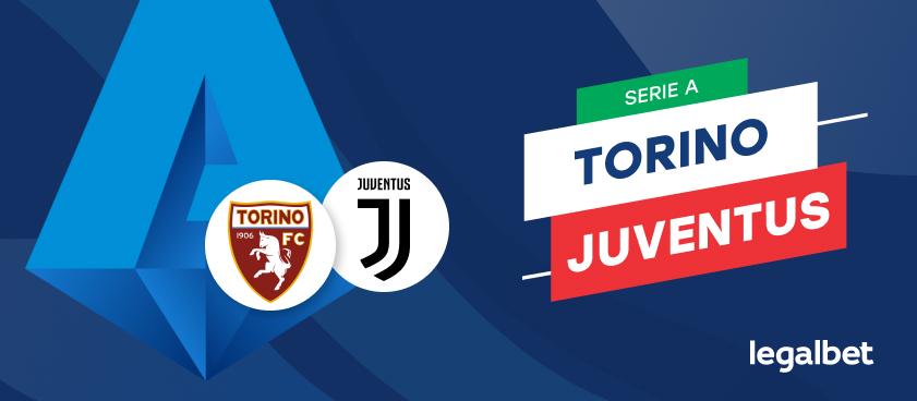 Apuestas y cuotas Torino - Juventus, Serie A 2020/21