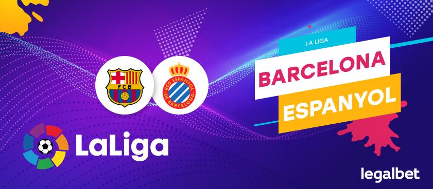 Previa, análisis y apuestas FC Barcelona - Espanyol, La Liga 2020