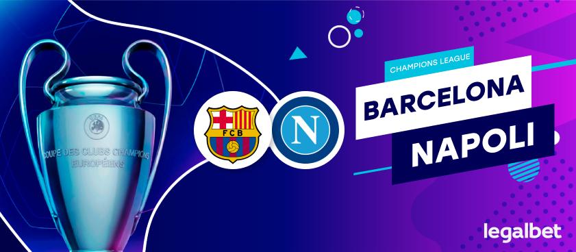 Previa, análisis y apuestas FC Barcelona - Napoli, Champions League 2020