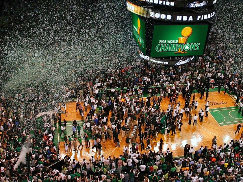 Знакомство с командами NBA - Бостон.