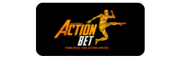 The logo of the bookmaker ActionBet - legalbet.ng