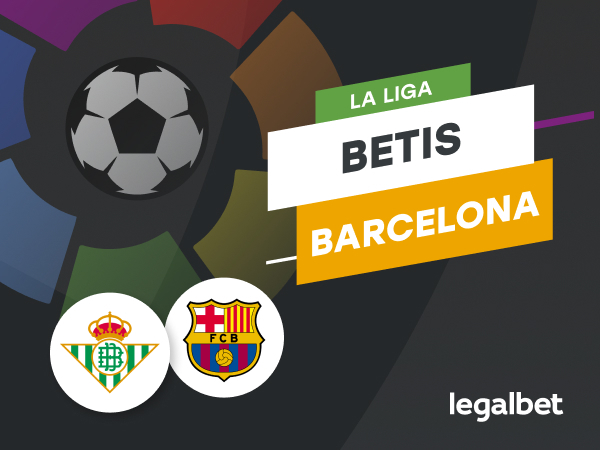 Antxon Pascual: Apuestas y cuotas Betis - Barcelona, La Liga 2020/21.