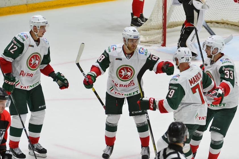 КХЛ: Регулярный сезон. Прогноз на матч Барыс - Ак Барс