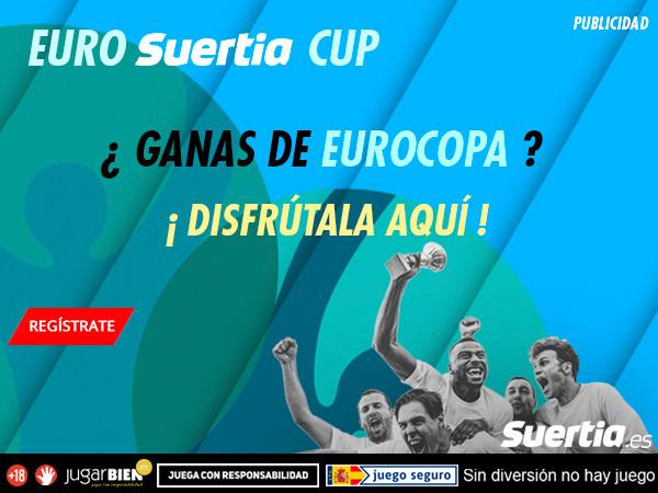 Legalbet.es: ¡Suertia no coge vacaciones: Eurocopa, Copa América, tenis, baloncesto…!.