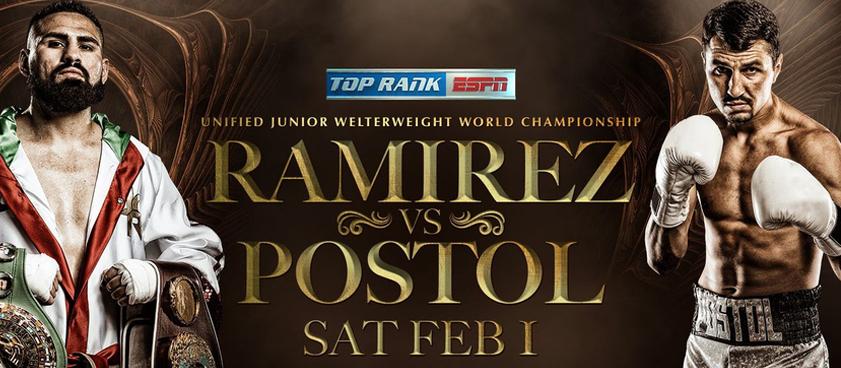 Рамирес - Постол: коэффициенты на бой за титулы WBC и WBO