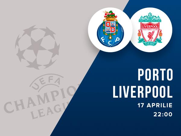 legalbet.ro: FC Porto - FC Liverpool: prezentare cote la pariuri si statistici.