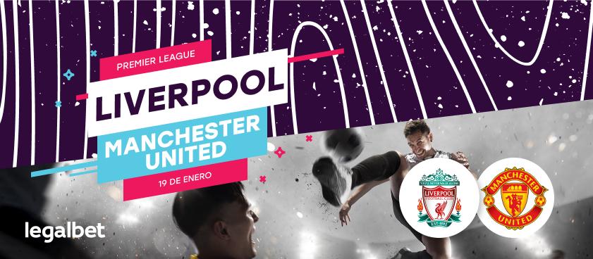 Previa, análisis y apuestas Liverpool - Manchester United, Premier League 2020