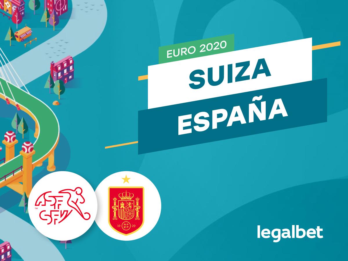 Antxon Pascual: Apuestas y cuotas Suiza - España, EURO 2020.