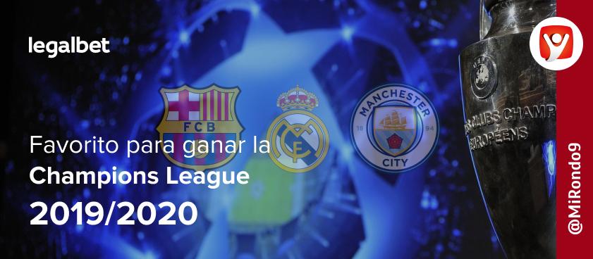 Sobre mi favorito a ganar la Champions League 2019/20