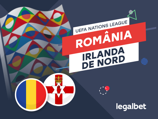 Karbacher: România vs Irlanda de Nord: cote la pariuri şi statistici.