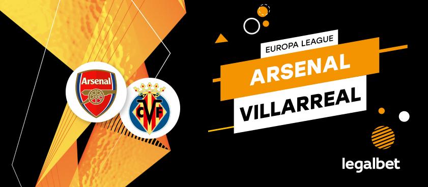 Apuestas y cuotas Arsenal - Villarreal, Europa League 2020/21