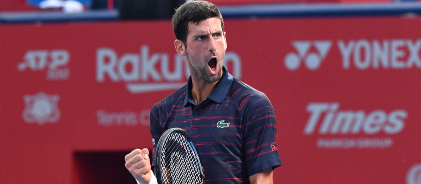 Στοίχημα στο Novak Djokovic - John Millman