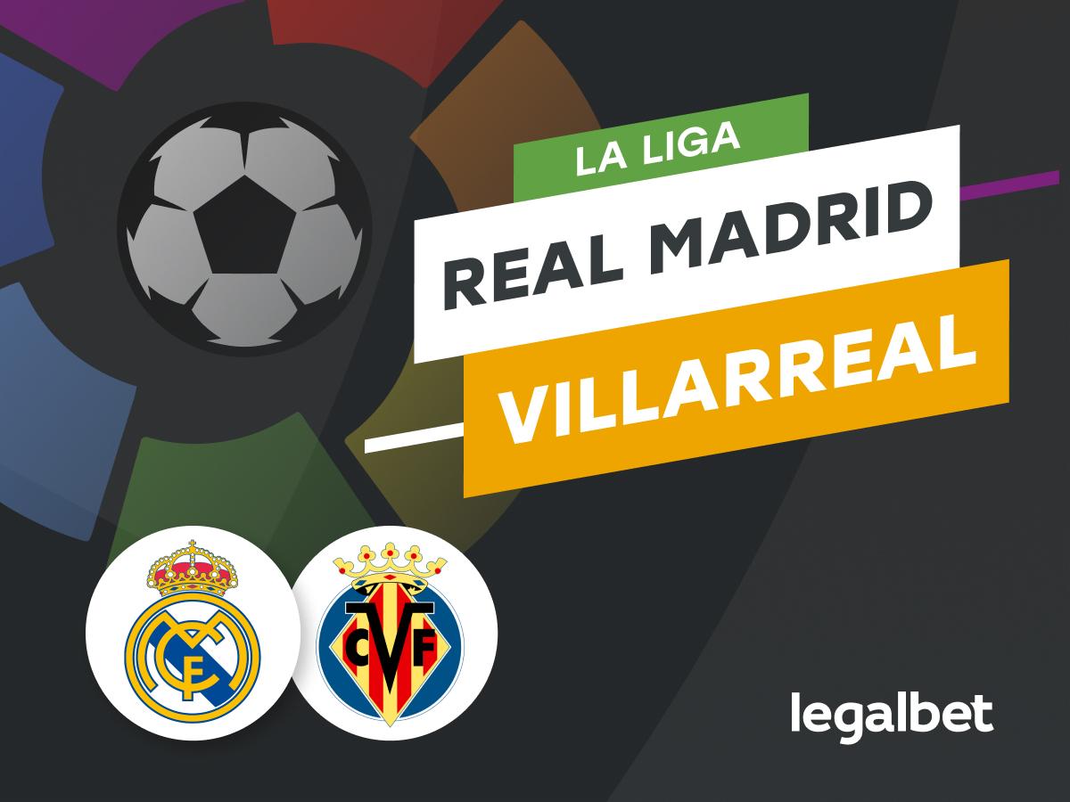 Antxon: Apuestas y cuotas Real Madrid - Villarreal, La Liga 2021/22.
