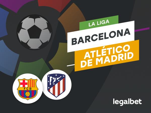 Antxon Pascual: Apuestas Barcelona - Atlético de Madrid.
