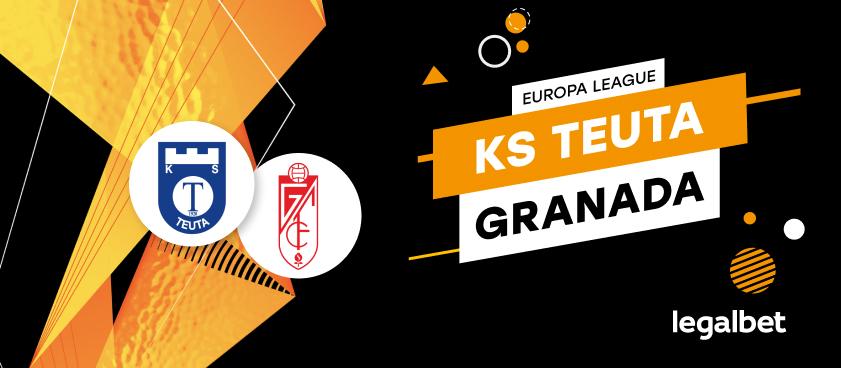 Apuestas y cuotas Teuta - Granada, Europa League 2020/21