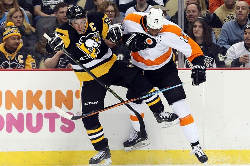 Pittsburgh Penguins - Philadelphia Flyers, derby-ul statului Pennsylvania