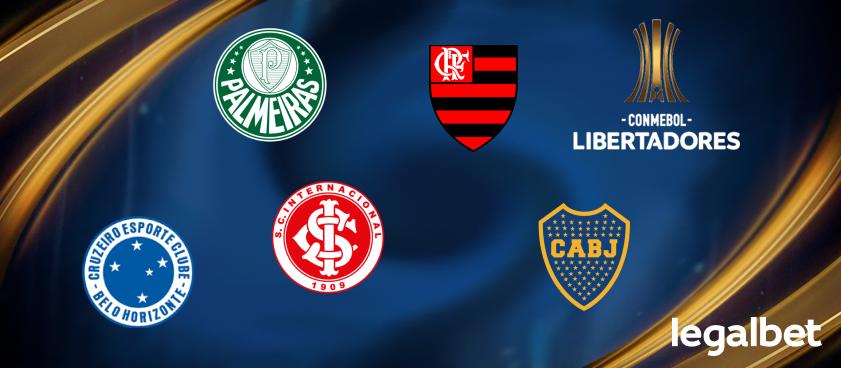 Букмекеры: бразильские клубы – главные фавориты Кубка Либертадорес