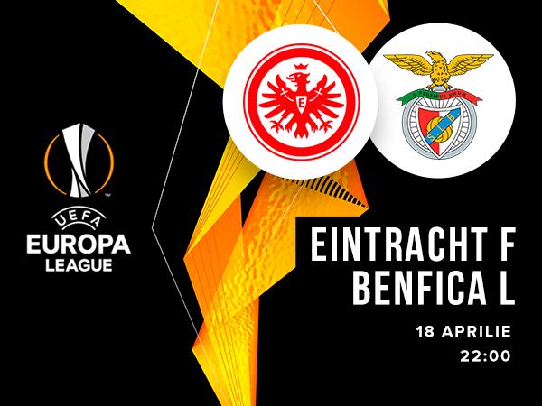 legalbet.ro: Eintracht Frankfurt - Benfica Lisabona: prezentare cote la pariuri si statistici.