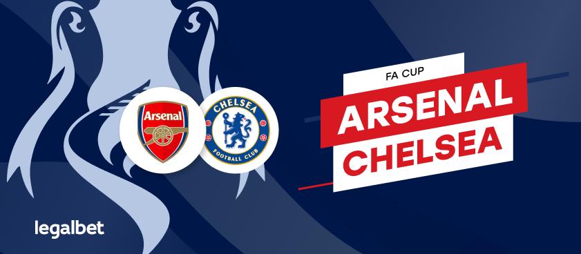 Previa, análisis y apuestas Arsenal - Chelsea, FA Cup 2020