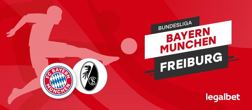 Bayern Munchen - Freiburg:analiza si ponturi pariuri Bundesliga