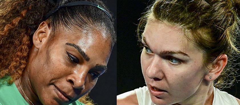 Simona Halep vs Serena Williams, in finala feminina la Wimbledon