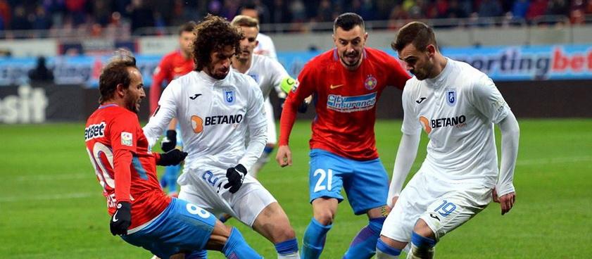 FCSB - Universitatea Craiova: Pronosticuri Liga 1 Betano (play-off)