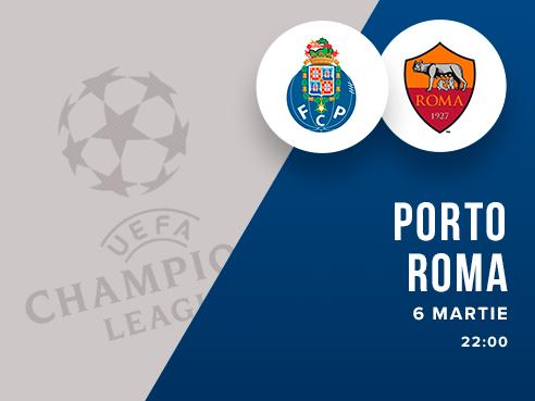 legalbet.ro: FC Porto - AS Roma: prezentare cote la pariuri si statistici.
