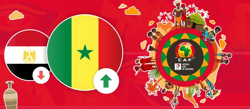 Сенегал стал главным фаворитом Кубка Африки вместо Египта