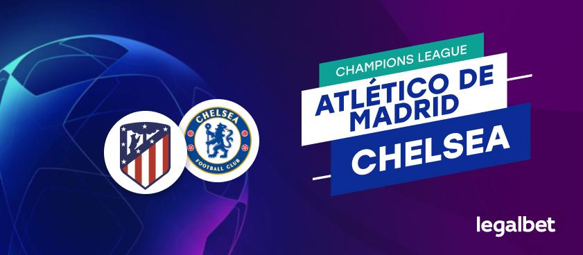 Apuestas y cuotas Atlético de Madrid - Chelsea, Champions League 2020/21