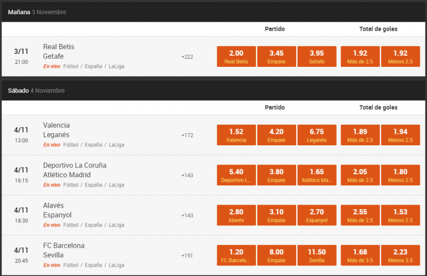 888sport La Liga Santander - Legalbet.es