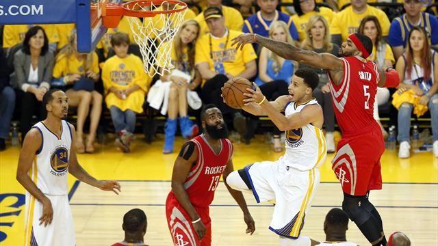Прогноз на первый матча плей-оффа NBA. Хьюстон - Голден Стэйт