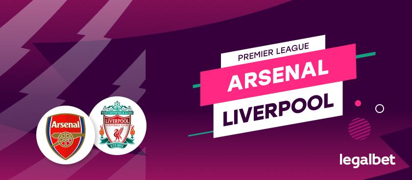 Arsenal vs Liverpool – cote la pariuri, ponturi si informatii