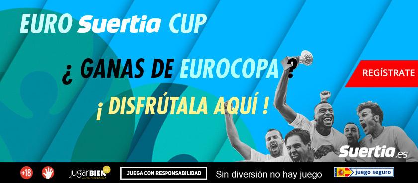 ¡Fases finales de la Eurocopa y Copa América en Suertia.es!