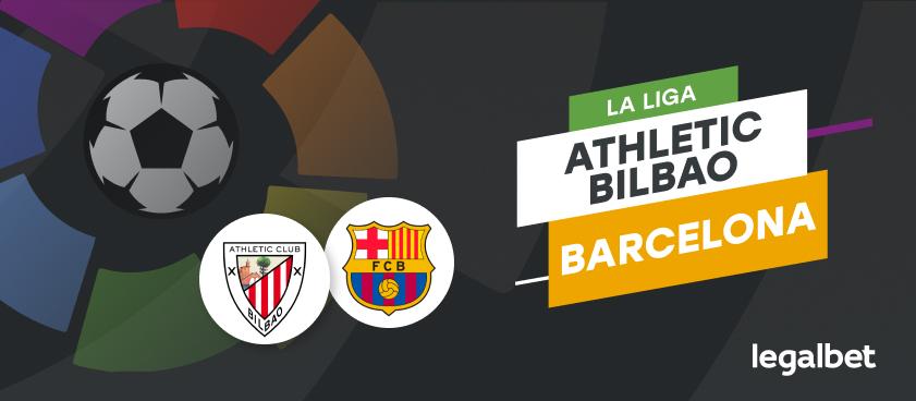 Apuestas y cuotas Athletic - Barcelona, La Liga 2020/21