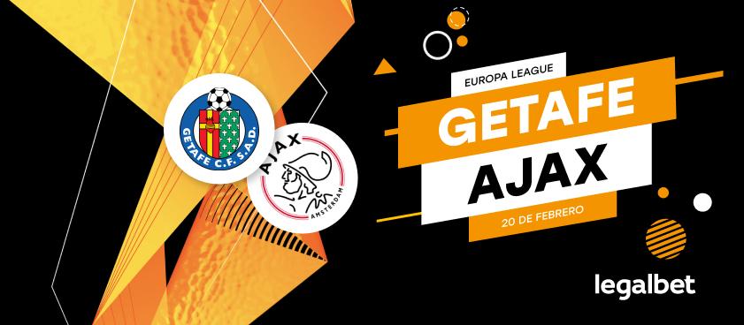Previa, análisis y apuestas Getafe - Ajax, Europa League 2020