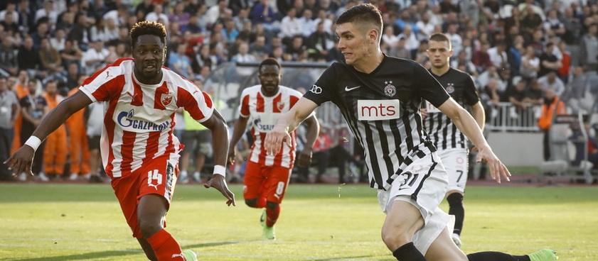 Red Star Belgrade - FK Spartaks. Pontul lui Nica