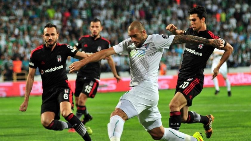 Bursaspor - Besiktas, oaspeții vor să obțină victoria !