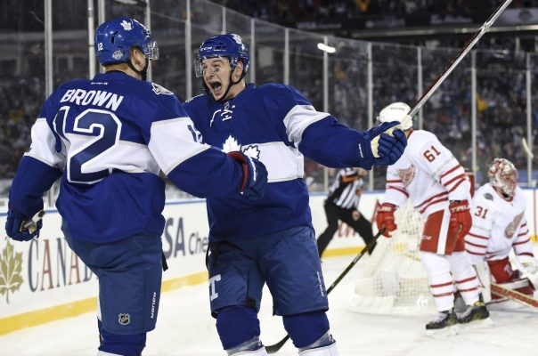 NHL. Toronto Maple Leafs - Detroit Red Wings