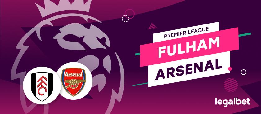 Apuestas y cuotas Fulham - Arsenal, Premier League 2020