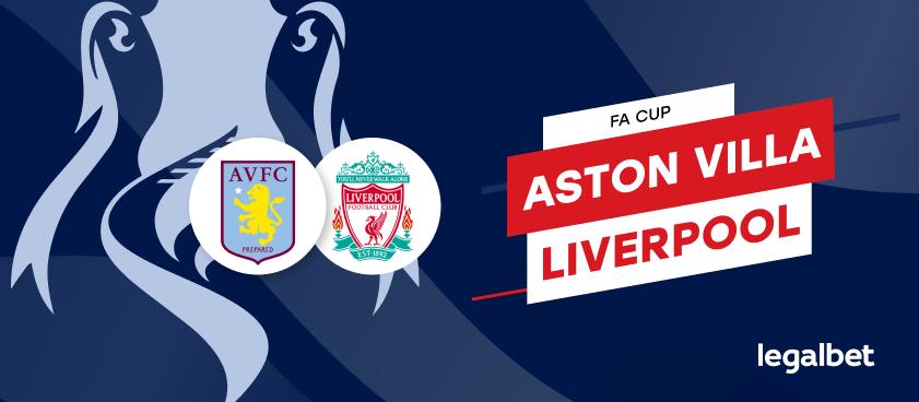 FC Aston Villa - FC Liverpool: cote la pariuri şi statistici