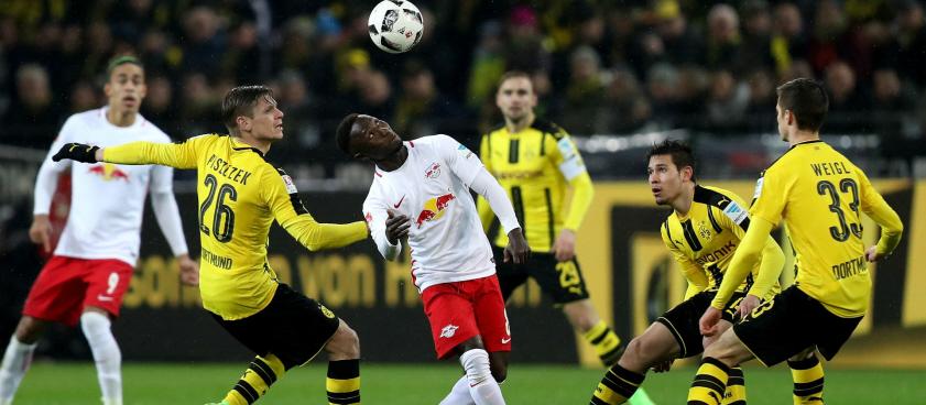 Dortmund - RB Leipzig. Pariul lui Wallberg