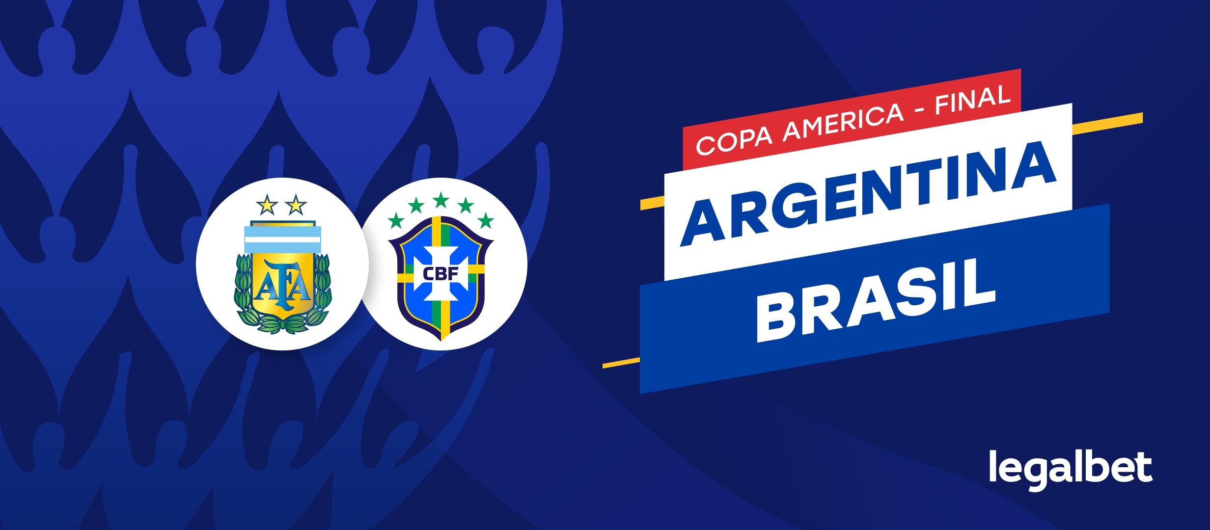 Previa y apuestas Argentina - Brasil, Copa América 2021