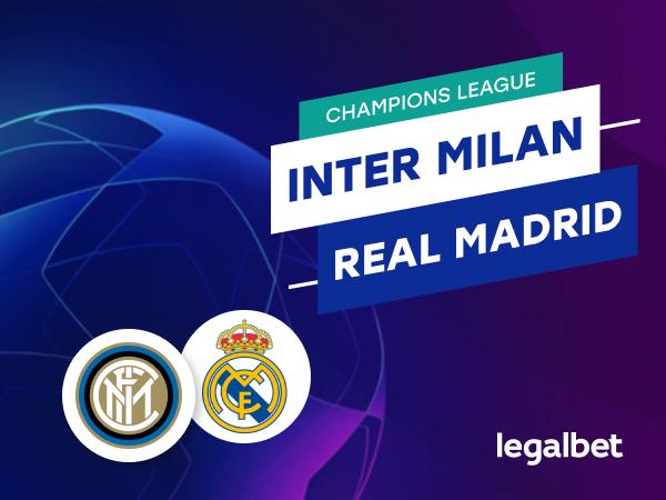 Mario Gago: Apuestas y cuotas Inter Milan - Real Madrid, Champions League 2020.